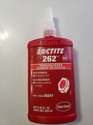 Loctite 262 High Strength Red Threadlocker 250ml - Exp. 062022 Free Shipping