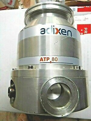 Adixen Alcatel Atp 80 Turbomolecular Pump Turbo Vacuum