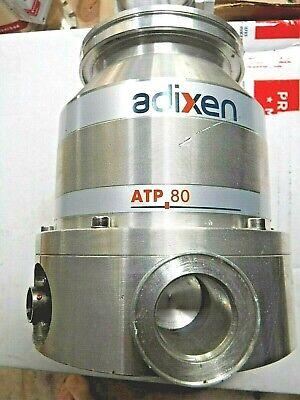 Adixen Alcatel Atp 80 Turbomolecular Pump Turbo Vacuum