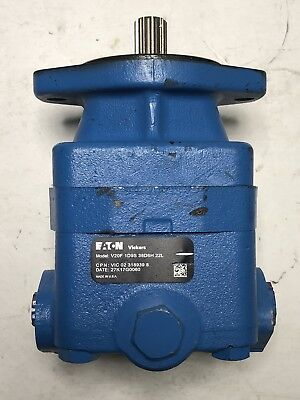 New Freightliner Power Steering Pump Vic-02-318939-8 Eaton Vickers V20f