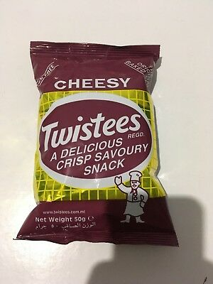 Twistees Cheesy Crisp Baked Snack rice based GLUTEN FREE 50grms (Baked Rice Crisp)