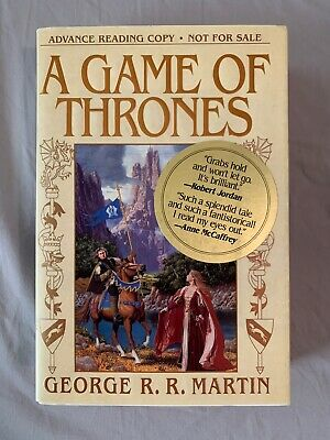 SIGNED Game of Thrones, George R R Martin, Advance Reader's Copy (ARC), with DJ