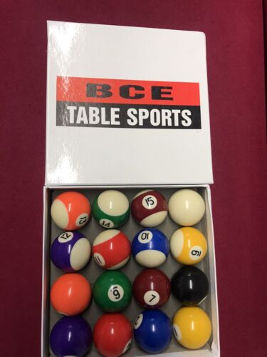 BRAND NEW NEVER USED Pool Balls 48mm WORTH 30 NEW
