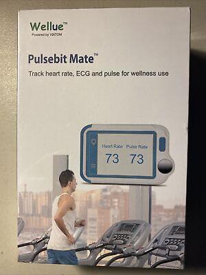 Wellue Pulsebit Mate Ecgekg Portable Heart Rate Health Tracker W Pc Software