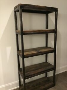 Restoration hardware/upcountry Axel book case