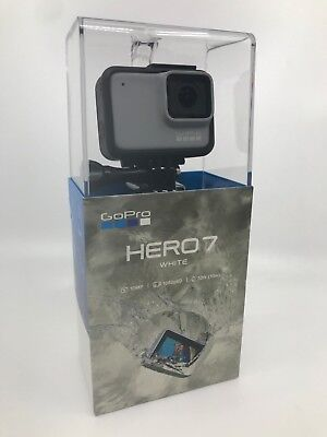 New/Sealed GoPro HERO7 White Waterproof Action Camera Touch Screen 1440p HD Vid