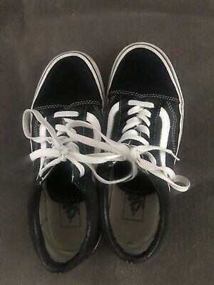 Vans Black And White Size Uk 5 Euro 38