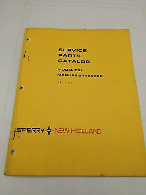 New Holland Service Parts Catalog Model 791 Manure Spreader 5-77