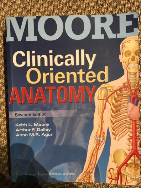 Moore Clinically Oriented Anatomy 7th edition   Textbooks   Gumtree ...