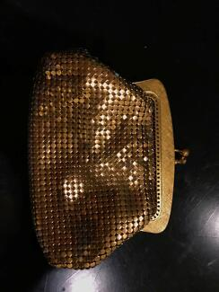 Vintage Oroton Gold Glomesh Coin Purse