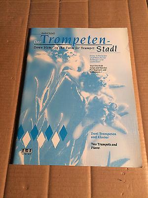 TROMPETEN-STADL - SCHMITZ - 2 TROMPETEN + KLAVIER - AMA VERLAG