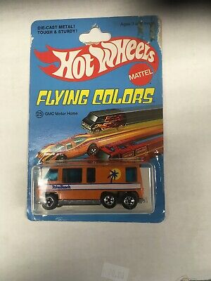 Hot Wheels Flying Colors G M C Motor Home Orange