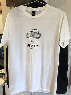 Braindead Prison Shirt Isamu Noguchi Huey Newtown Small