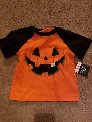 Celebrate Halloweem TB Graphic Tee NWT 2t Unisex Pumpkin Jack O  Lantern orange (Halloweem Costumes)