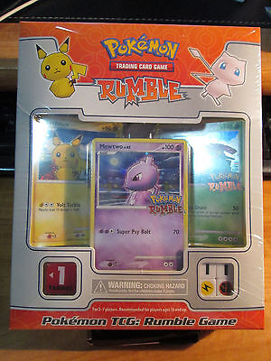 Sealed COMPLETE Pokemon RUMBLE Battle Game PROMO Card Set Box COLLECTION Mew 151