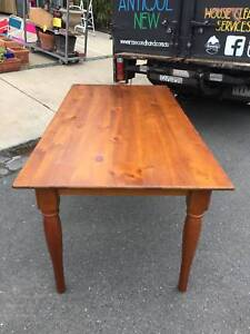 dining table, wood dining table, kitchen table WE CAN DELIVER Brunswick Moreland Area Preview
