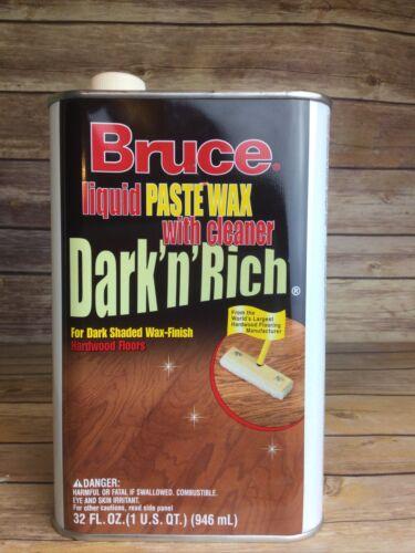 Bruce Liquid Paste Wax With Cleaner Dark N Rich Finish Hardw