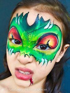 Professional Face Painter - Fantasy Metamorfaces Thorneside Redland Area Preview