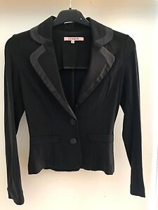 Review Jacket Size 8 Black Ivanhoe Banyule Area Preview