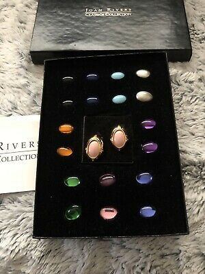 Joan Rivers Classic Collection Interchangeable J Hoop Earring 322025