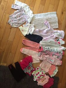 0-3 Months Lot Of Girls Clothing