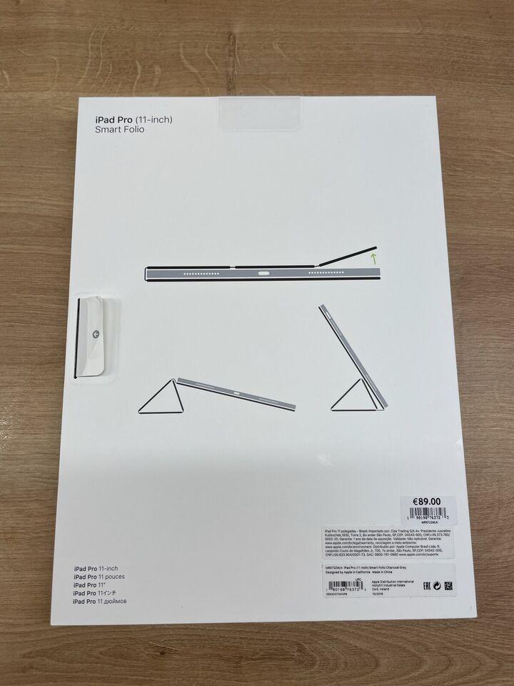 "Apple iPad Pro 11"" Smart Folio Charcoal Grey in Kissing"