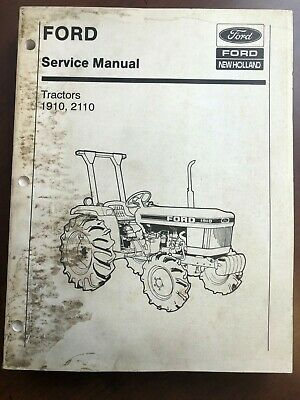 Ford New Holland 1910 2110 Tractor Factory Servicemanual