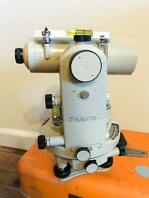 Vintage Path Instruments T22 Surveying Surveyors Transit Fuji Theodolite T-22