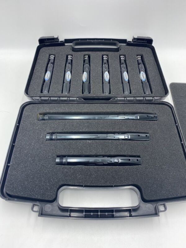 PHAT Paintball 9 Piece Barrel Kit W/ Case - AC Autococker Threads - Used