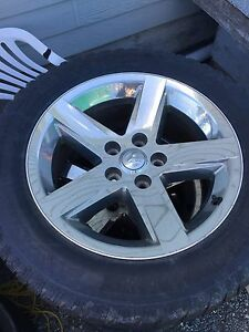 "20"" Dodge Ram wheels+ studded winters"