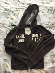 Abercrombie & Fitch Brown hoodie