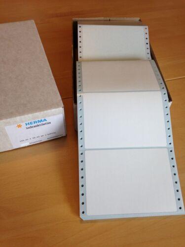 200 Stück HERMA Etiketten, Computeretiketten, endlos, 139,0 x 98,6 mm, 1-bahnig