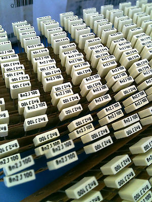 3x R86ec1820dq50j Arcotronics Capacitor 8200pf 50v 5 Radial 3units