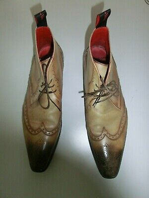Jeffery West Mens brown shoes boots SIZE 10
