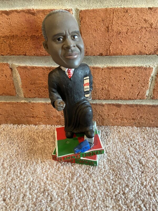 Clarence Thomas Bobblehead Green Bag Supreme Court Justice - mint, NO BOX