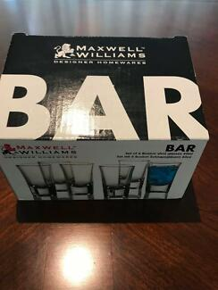 NEVER USED: Maxwell & Williams Shot Glasses