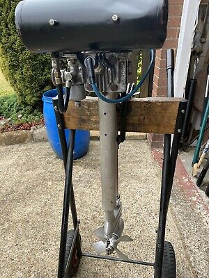 British Seagull Outboard Motor Engine Featherweight 1-1/2 Hp