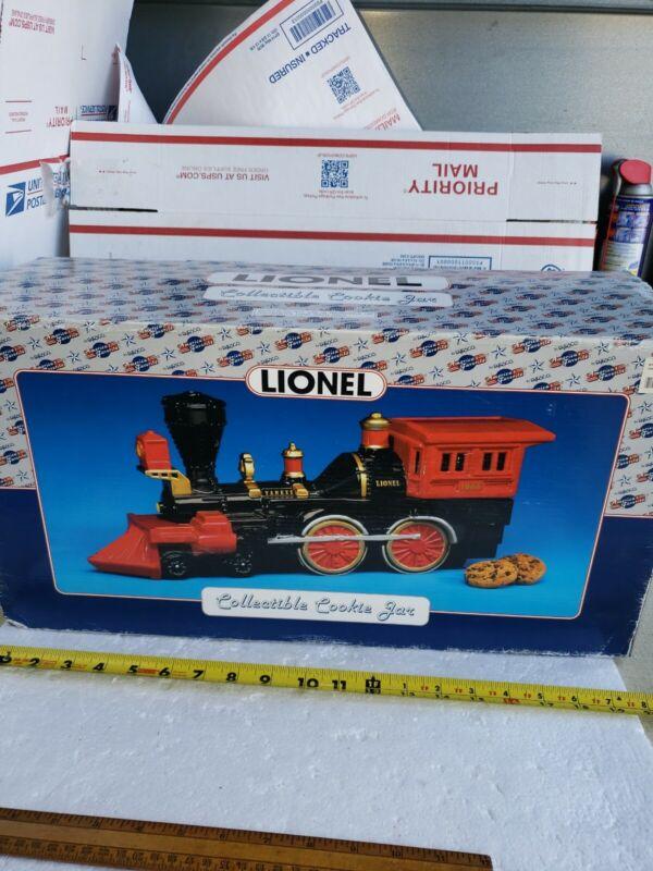 Lionel Steam Engine Cookie Jar YANKEE 1865 791210