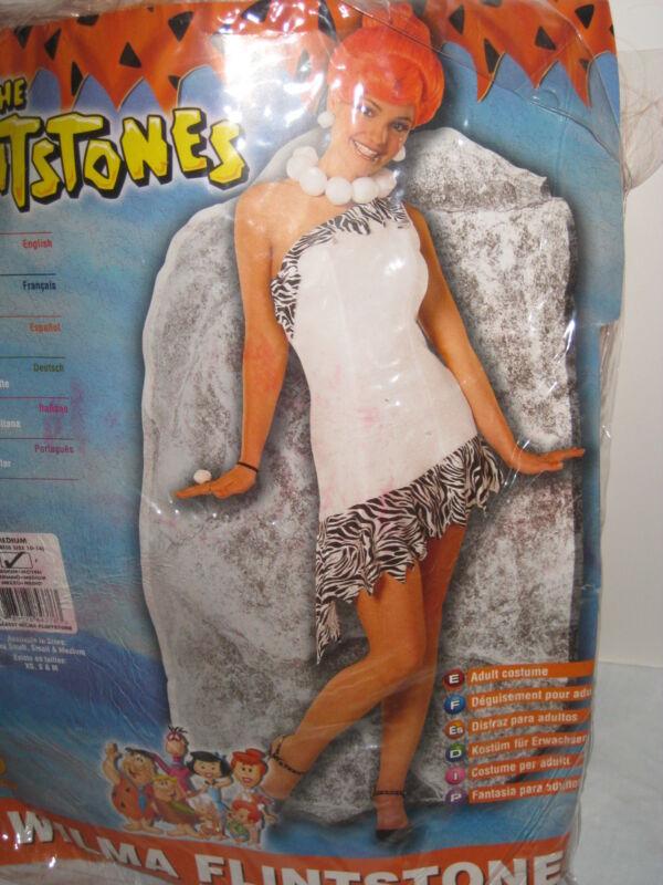 Cartoon Network Wilma Flintstone Halloween Adult Womens Costume Medium