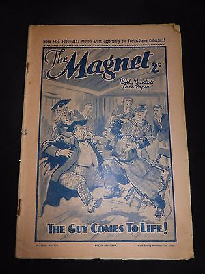 The Magnet, Billy Bunter's Own Paper, No 1603 Vol LIV, November 5th 1938