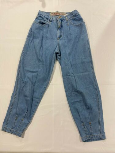 Vintage JOUJOU 90s Streetwear Womens Sz 11/12 Tapered Leg High Rise Mom Jeans