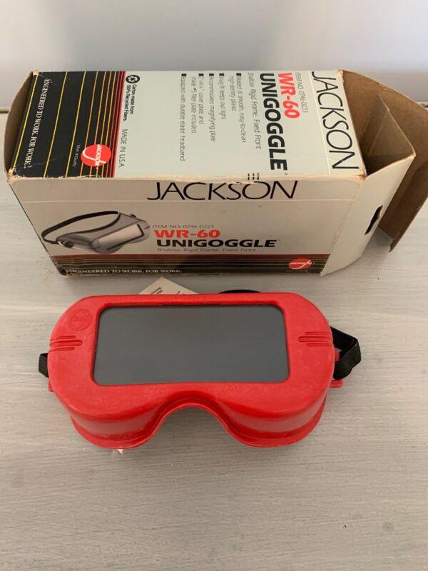 Vintage Jackson Unigoggle Welding Goggles & lens WR-60