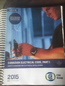 2015 CEC Canadian electrical code book