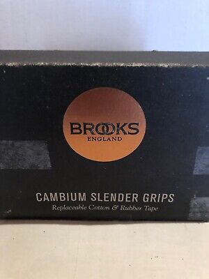 New Brooks Slender Cambium Wrap Bike Bicycle Handlebar Grips Natural 130//100mm