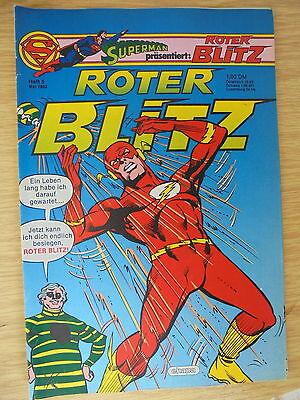 1 x Comics: Roter Blitz Heft Nr. 5 - 1982