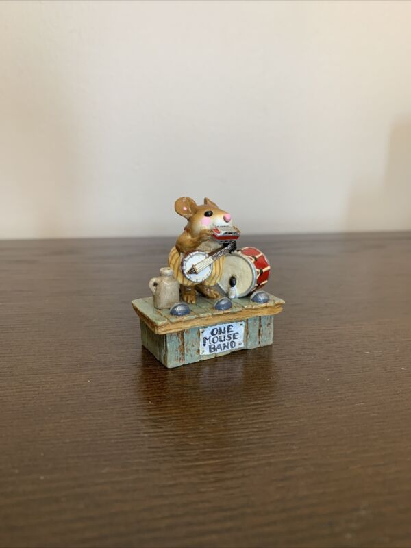 Wee Forest Folk One Mouse Band MS-196, No Box