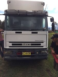 Iveco 12 pallet 8 tonne with taillift and curtainsider for sale Old Toongabbie Parramatta Area Preview