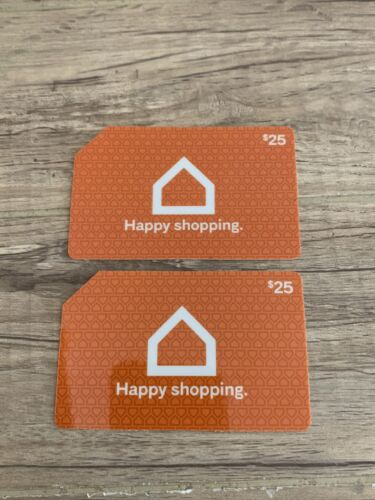 2 X 25 Ashley Furniture Gift Cards 50 Total. See Details in Store Only  - $30.00