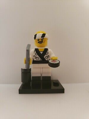 LEGO MINIFIGURE NINJAGO MOVIE SERIES SUSHI CHEF HATTORI HANZO