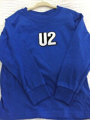 U2 Long Sleeve Tee T-Shirt Youth size 6 American Apparel for sale  Cranford